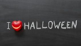 Förälskelse Halloween Royaltyfri Fotografi