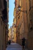Förälskelse i den gamla staden Royaltyfri Foto