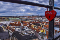 Förälskelse i Munich Royaltyfri Bild