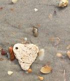 Förälskelse i sanden Royaltyfri Fotografi