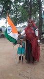 Förälskelse kan Indien Royaltyfri Bild