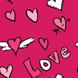 Förälskelse mönstrar Arkivbilder