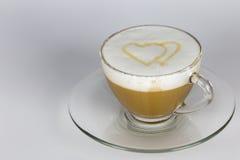 Förälskelse och kaffe Royaltyfri Foto