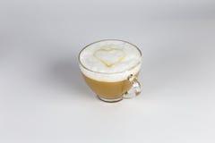 Förälskelse och kaffe Arkivbilder