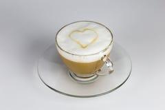 Förälskelse och kaffe Arkivbild