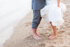 Förälskelse på stranden royaltyfri foto