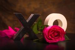 förälskelse ringer att gifta sig för symboler Royaltyfri Fotografi