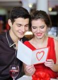 Förälskelse. Valentindag royaltyfri bild