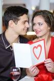 Förälskelse. Valentindag royaltyfri fotografi