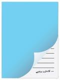 förälskelseanteckningsbok Arkivbild