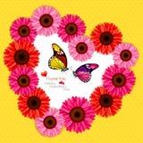 Förälskelsebakgrund royaltyfri illustrationer
