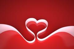 förälskelseband Stock Illustrationer
