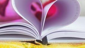 Förälskelsebok Arkivbild