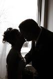 förälskelsebröllop Arkivbild