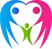 Förälskelsefamilj stock illustrationer