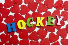 Förälskelsehockey Royaltyfri Bild