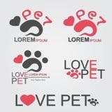 Förälskelsehusdjur Arkivfoto