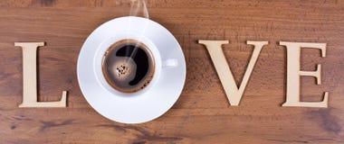 Förälskelsekaffe Royaltyfria Foton