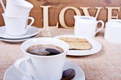 Förälskelsekaffe Royaltyfri Foto