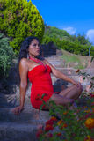 Förälskelsekvinna Fotografering för Bildbyråer