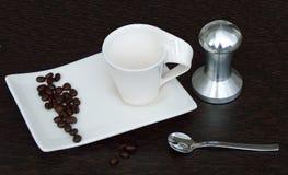 Förälskelsen av kaffe royaltyfri foto