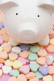 förälskelsepengar sparar till Royaltyfri Foto