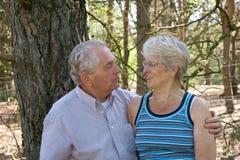 förälskelsepensionär Royaltyfri Fotografi