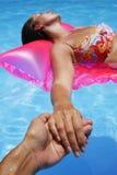 förälskelsesommar Fotografering för Bildbyråer