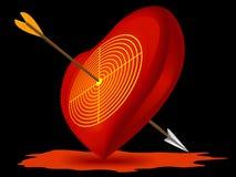 förälskelsesymbol Arkivbilder