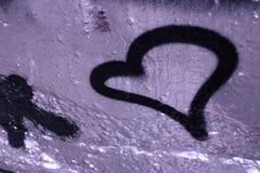 förälskelsesymbol Royaltyfri Fotografi