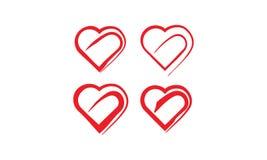 förälskelsesymbol royaltyfri illustrationer