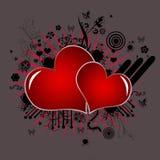 förälskelsesymbolvalentiner Arkivbilder