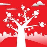Förälskelsetree Royaltyfri Bild
