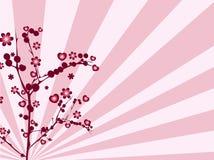 förälskelsetree Arkivfoton