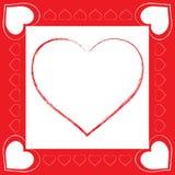 förälskelsevektor Royaltyfri Foto