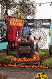 Förändra sig för Johnny Ramone på Diameter de los Muertos royaltyfria bilder