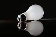 föråldrad lightbulb Arkivbild