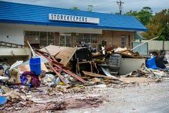 Förödelsen av orkanen Harvey Royaltyfri Fotografi