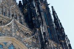 För ¡ la för St Vitus Cathedral - Katedrà svatého VÃta Fotografering för Bildbyråer