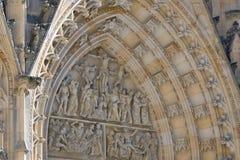 För ¡ la för St Vitus Cathedral - Katedrà svatého VÃta Royaltyfri Foto