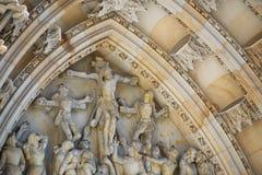 För ¡ la för St Vitus Cathedral - Katedrà svatého VÃta Royaltyfri Fotografi
