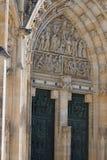 För ¡ la för St Vitus Cathedral - Katedrà svatého VÃta Arkivbilder