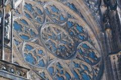 För ¡ la för St Vitus Cathedral - Katedrà svatého VÃta Royaltyfria Foton