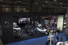 För — DS för auto show BILAR Royaltyfri Fotografi