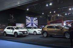 För — DS för auto show BILAR Royaltyfria Bilder