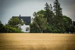 för århundradestaden för 1807 1885 lokaliserade den 19th autentiska byggnader kansas för huset för hodge för historia för lantgår Royaltyfria Foton