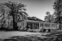 för århundradestaden för 1807 1885 lokaliserade den 19th autentiska byggnader kansas för huset för hodge för historia för lantgår Royaltyfri Fotografi