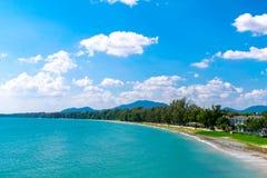 för öko för strand härlig phi thailand royaltyfri foto