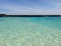 för öko för strand härlig phi thailand Royaltyfri Fotografi