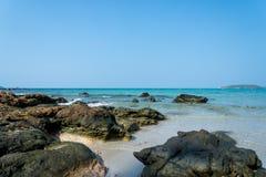 för öko för strand härlig phi thailand Arkivfoto